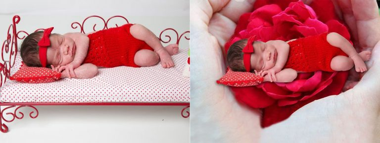 Baby photo manipulation service