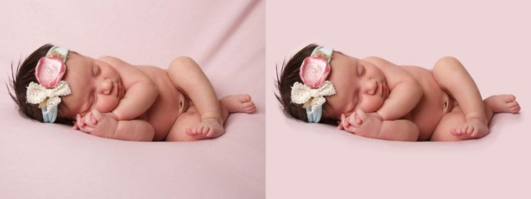 High end baby photo retouching company