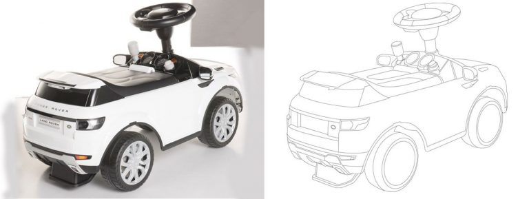 Line Drawing vector conversion service