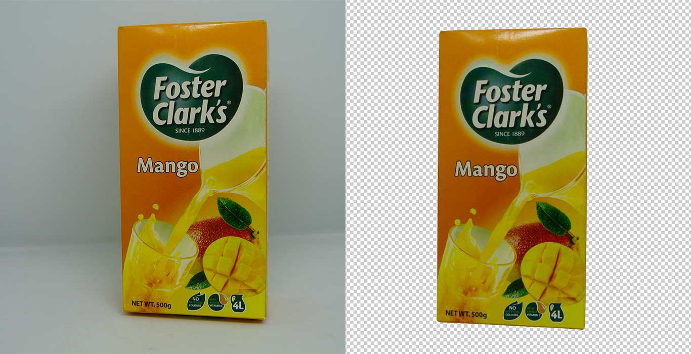 before after remove background from image
