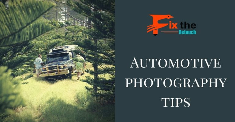 Automotive photography tips