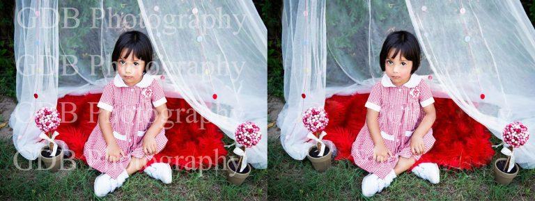 Watermark remove from Headshot Photo