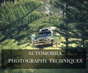 automobile photography techniques