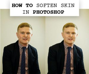 how to soften skin in photoshop