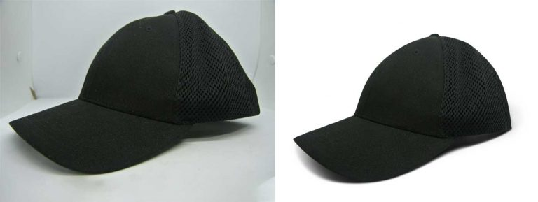Ecommerce product retouch sample