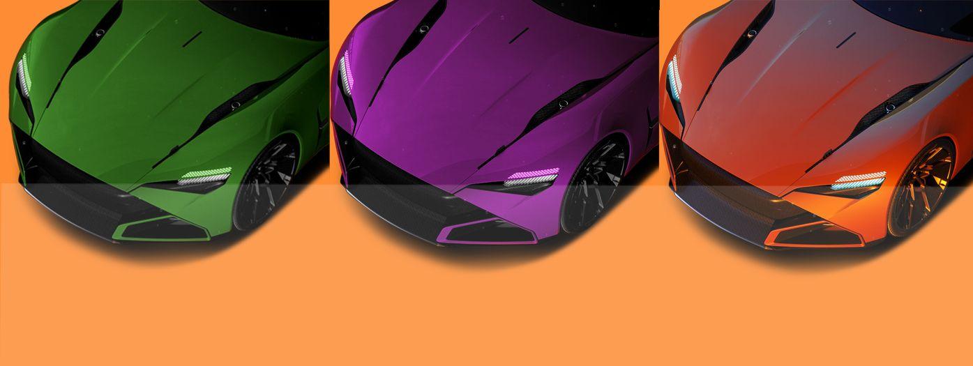 Car photo color correction