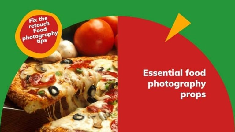 Essential food photography props