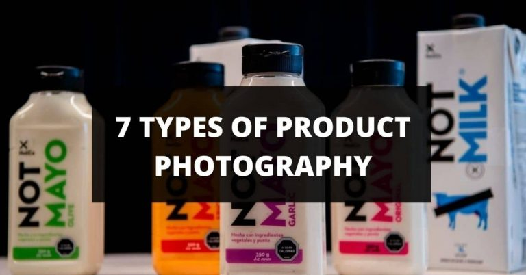 product photography types
