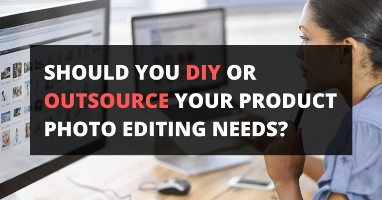 DIY vs outsourceing photo editing service