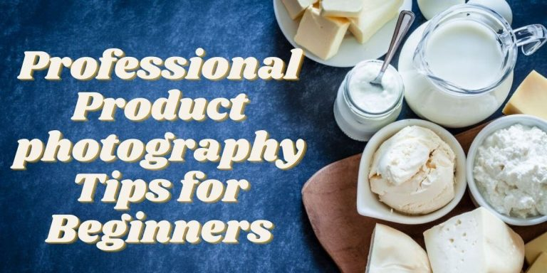 Product photography tips for beginners | Product photography