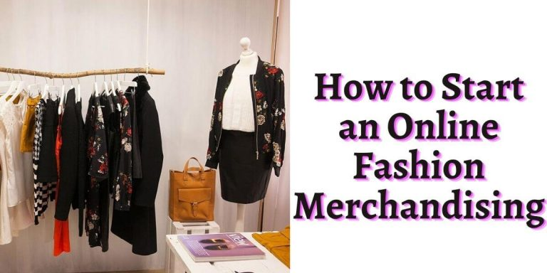 Online Fashion Merchandising | Online retail photography