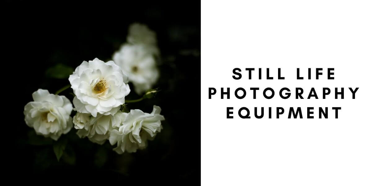 Still life photography equipment