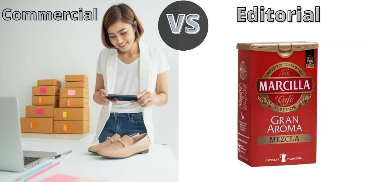 Editorial VS Commercial photography